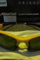 Farova Farova Shiny Yellow Sunglasses 1 piece