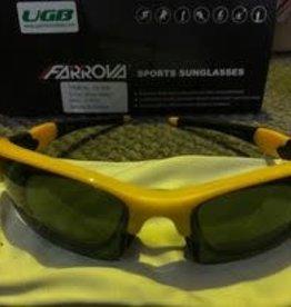 Farova Farova Shiny Yellow Sunglasses 1 piece