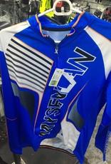 Mysenlan Blue/White Long Sleeve Jersey+Shorts