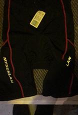 MySenlan MySenlan Black/Pink Stripe Shorts