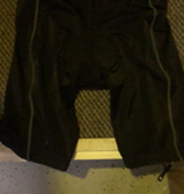 MySenlan MySenlan Black with Grey Stripes Shorts
