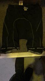 MySenlan MySenlan Black Shorts With Grey Stripe V2
