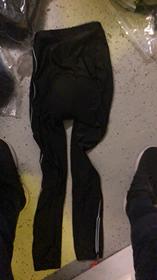 MySenlan MySenlan Black Pants With White Stripe