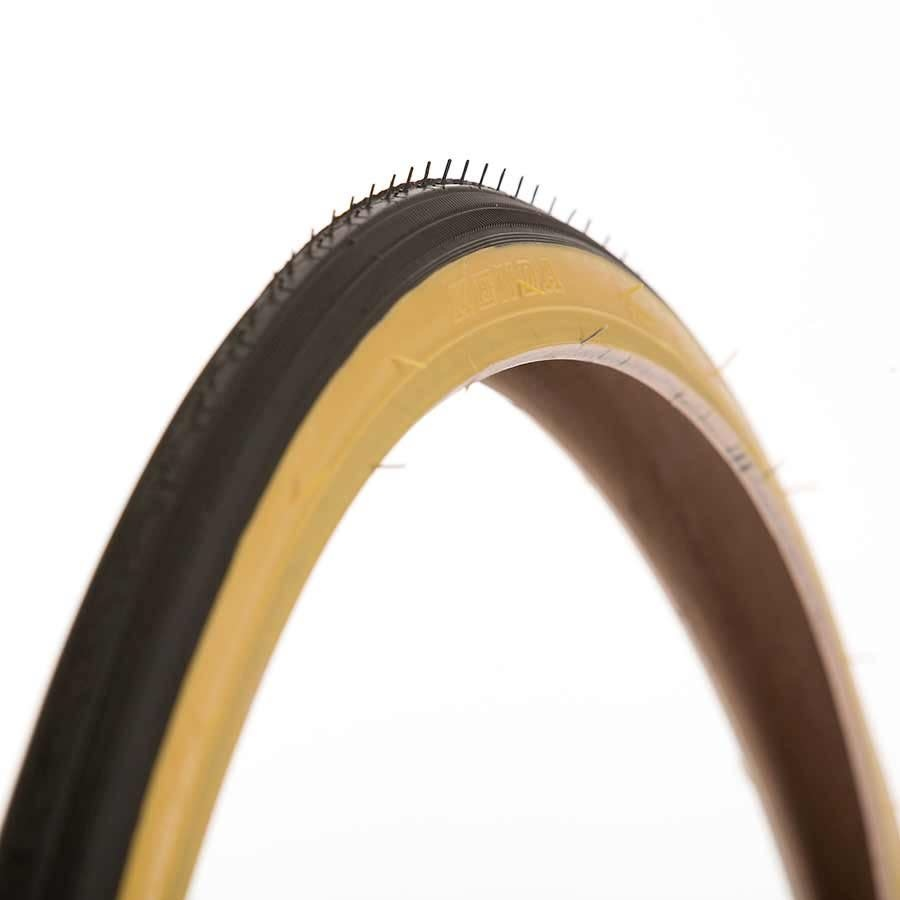 Kenda Kenda, K34, Tire, 27''x1-1/4, Wire, Clincher, SRC, 22TPI, Tanwall