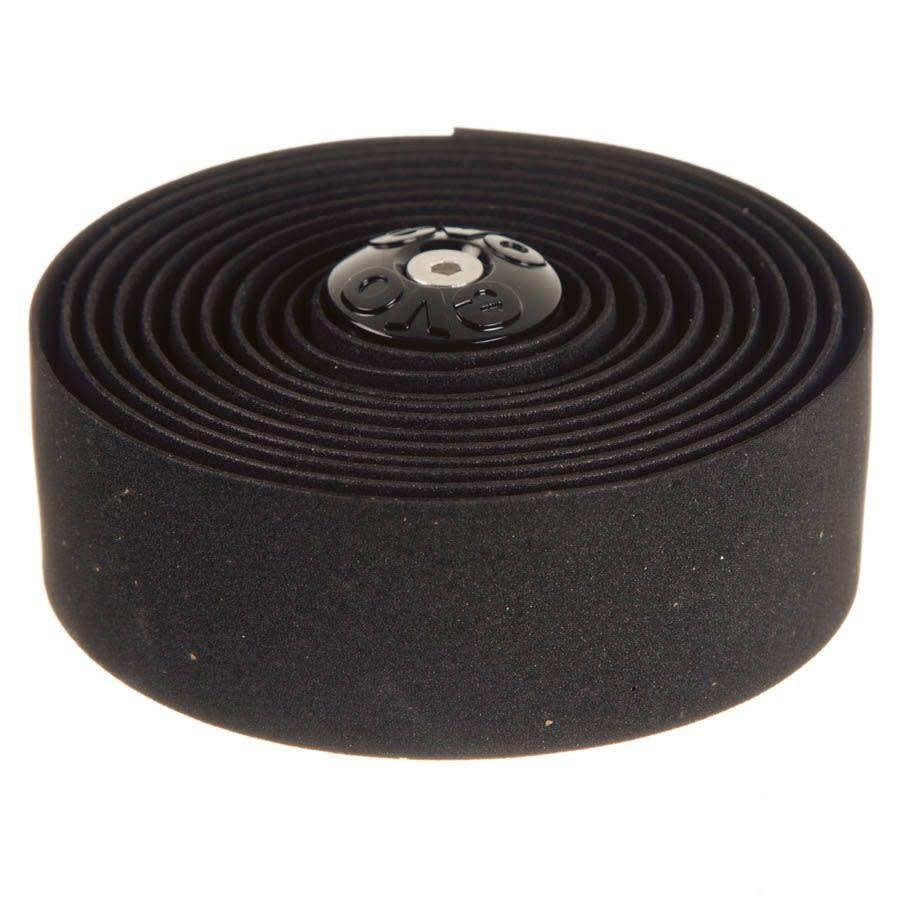 EVO EVO, Wind -Up Comfort, Cork Tape with Gel, Black