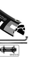 Wheel Shop Wheel Shop, Alex MD19/ Shimano HB-MT400-B Boost 27.5'', Wheel, Front, 27.5'' / 584, Holes: 32, 15mm TA, 110mm Boost, Disc Center Lock