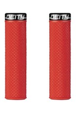 Deity Deity, Supracush, Grips, 133mm, Red, Pair