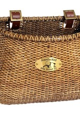 Nantucket, Lightship, Classic Basket, 12''X7.5''X9'', Stained
