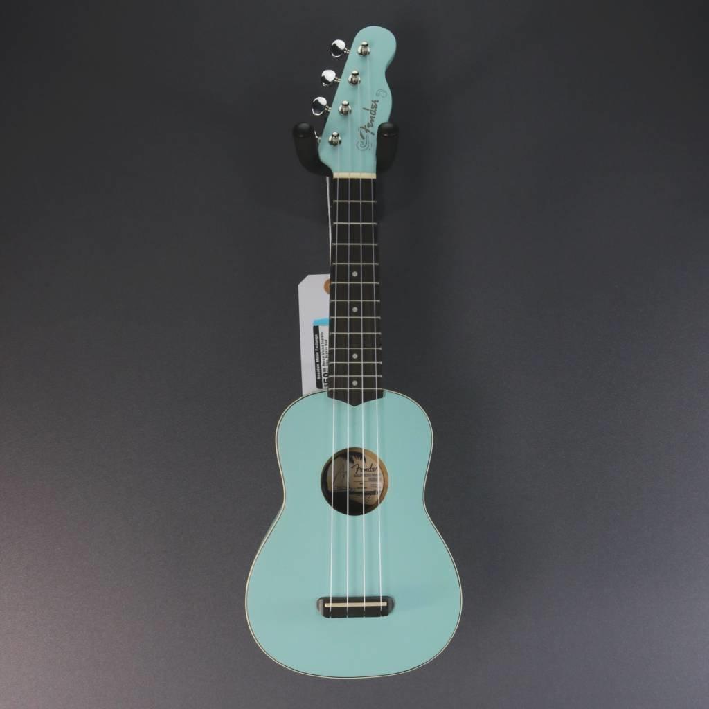Fender NEW Fender Venice Soprano Uke - Daphne Blue