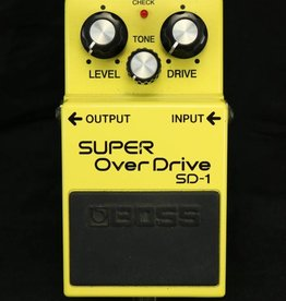 Boss USED Boss SD-1 Super Overdrive (535)