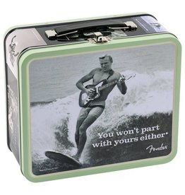 "Fender NEW Fender Collectible Lunchbox - ""You Won't Part With Yours Either"""