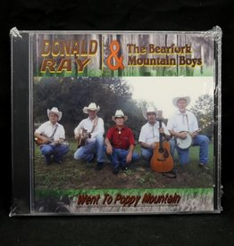 Local Music Donald Ray & The Bearfork Mountain Boys - Went to Poppy Mountain (CD)