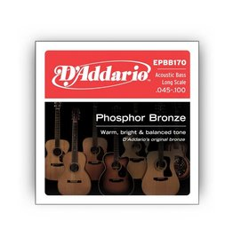 D'Addario D'Addario EPBB170 Phosphor Bronze Acoustic Bass Long Scale, .045-.100