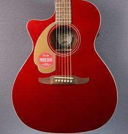 Fender DEMO Fender Newporter Player LH - Candy Apple Red (615)