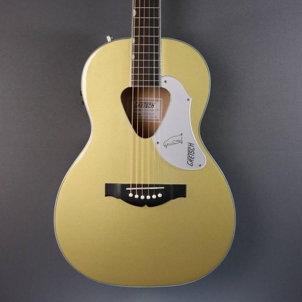Gretsch Acoustic Guitars >> Gretsch G5021e Le Rancher Penguin Parlor Casino Gold Is180801587