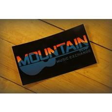 MME Mountain Music Exchange MME Logo Sticker