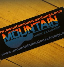 MME Mountain Music Exchange MME .com Sticker