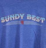 Local Music Sundy Best Blue Logo T-Shirt -  Large