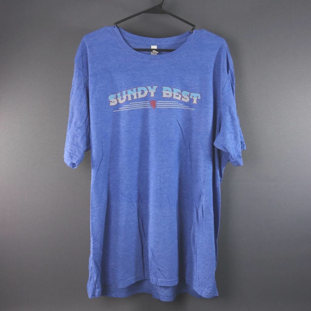 Local Music Sundy Best Blue T-Shirt - Extra Large