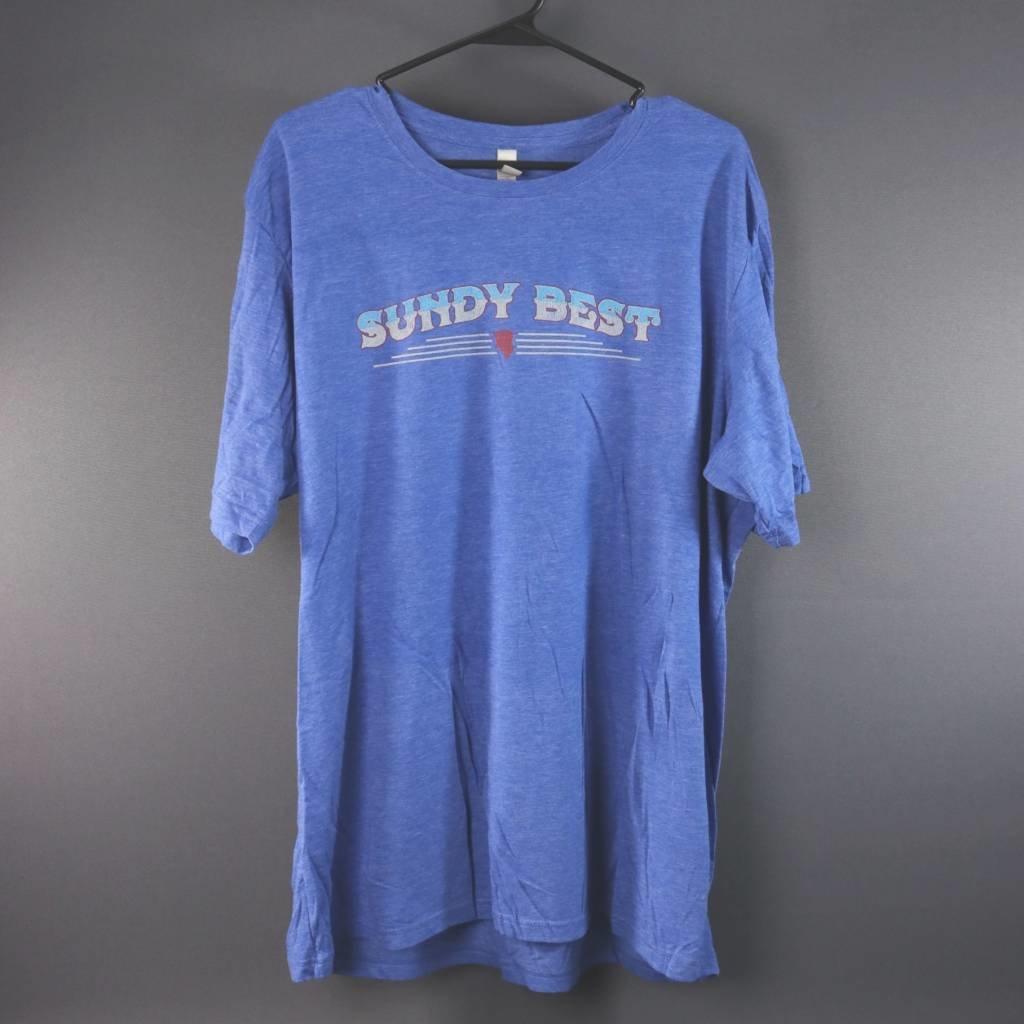 Local Music Sundy Best Blue T-Shirt - 2XL