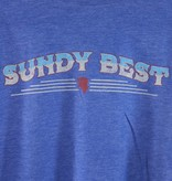 Local Music Sundy Best Blue T-Shirt - 2XL