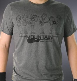 MME Mountain Music Exchange MME Gang T-Shirt - Grey - Small
