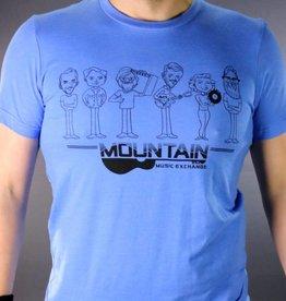 MME Mountain Music Exchange MME Gang T-Shirt -Blue - Medium