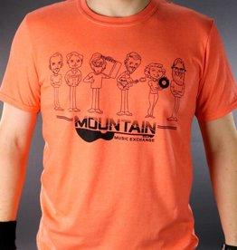 MME Mountain Music Exchange MME Gang T-Shirt - Orange - Small