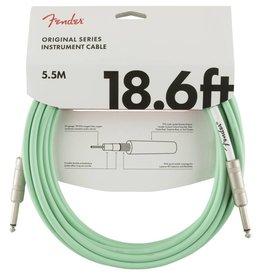 Fender NEW Fender Original Cable - 18.6' - Straight/Straight - Surf Green
