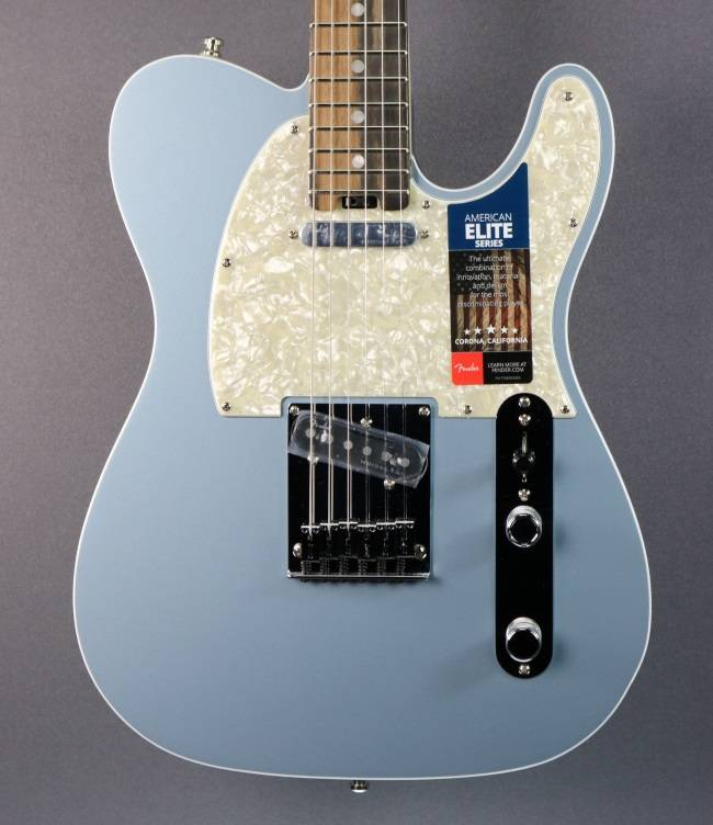 Fender DEMO Fender American Elite Telecaster - Satin Ice Blue Metallic (227)