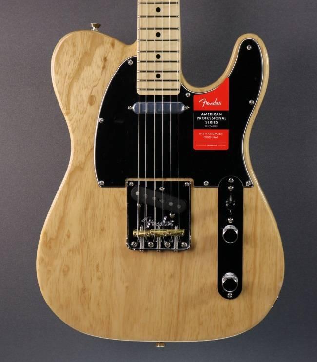 Fender NEW Fender American Professional Telecaster - Natural (458)