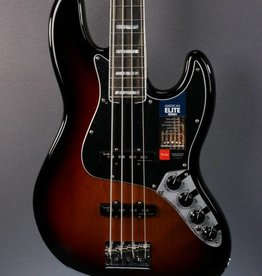 Fender NEW Fender American Elite Jazz Bass - 3-Color Sunburst (112)