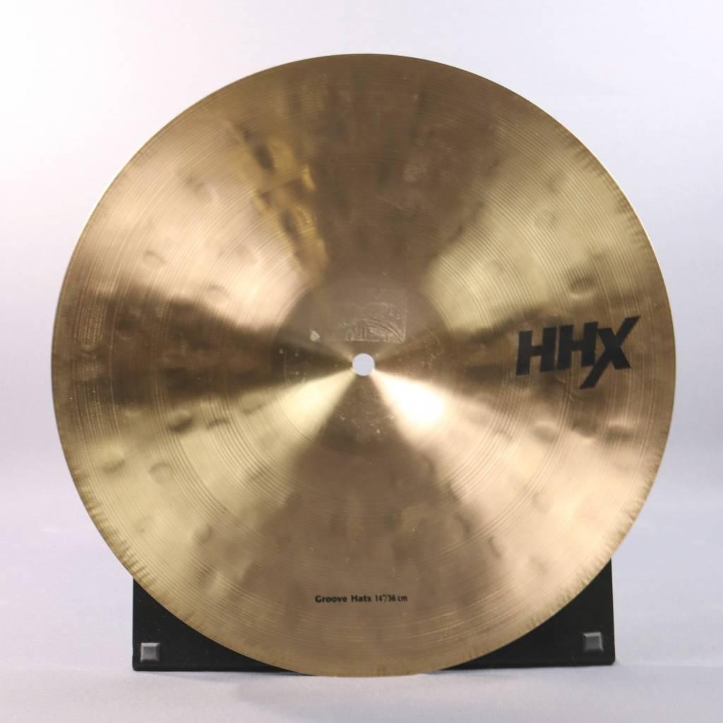"Sabian USED Sabian 14"" HHX Groove Hats (663)"