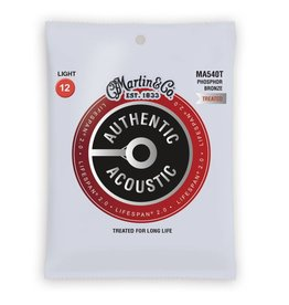 Martin NEW Martin Authentic Acoustic Lifespan 2.0 - MA540T - Phosphor Bronze - Light .012-.054