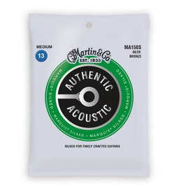 Martin NEW Martin Authentic Acoustic Marquis Silked - MA150S - 80/20 Bronze - Medium .013-.056