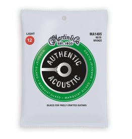 Martin NEW Martin Authentic Acoustic Marquis Silked - MA140S - 80/20 Bronze - Light .012-.054
