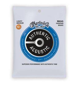 Martin NEW Martin Authentic Acoustic SP - MA545 - Phosphor Bronze - Light/Medium .012-.056