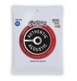 Martin NEW Martin Authentic Acoustic Lifespan 2.0 - MA550T - Phosphor Bronze - Medium .013-.056