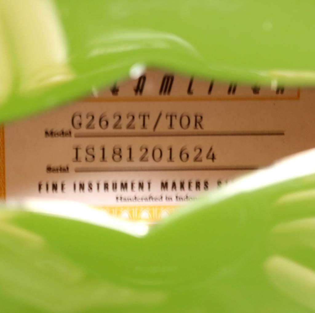 Gretsch DEMO Gretsch G2622T Streamliner Center Block with Bigsby, Laurel, Broad'Tron BT-2S - Torino Green (624)