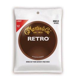 Martin NEW Martin Retro MM12 Monel - Light - .012-.054