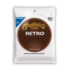 Martin NEW Martin Retro MM13 Monel - Medium- .013-.056