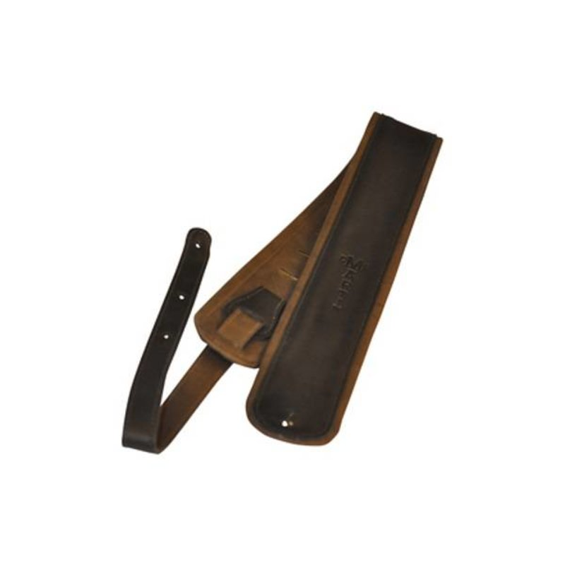 Martin NEW Martin Rolled Leather Guitar Strap - Black