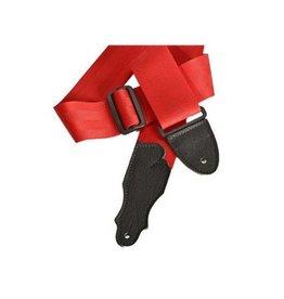 Franklin Straps NEW Franklin The Aviator Seatbelt Guitar Strap - Red