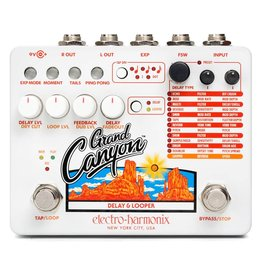 Electro-Harmonix NEW Electro Harmonix Grand Canyon Delay and Looper