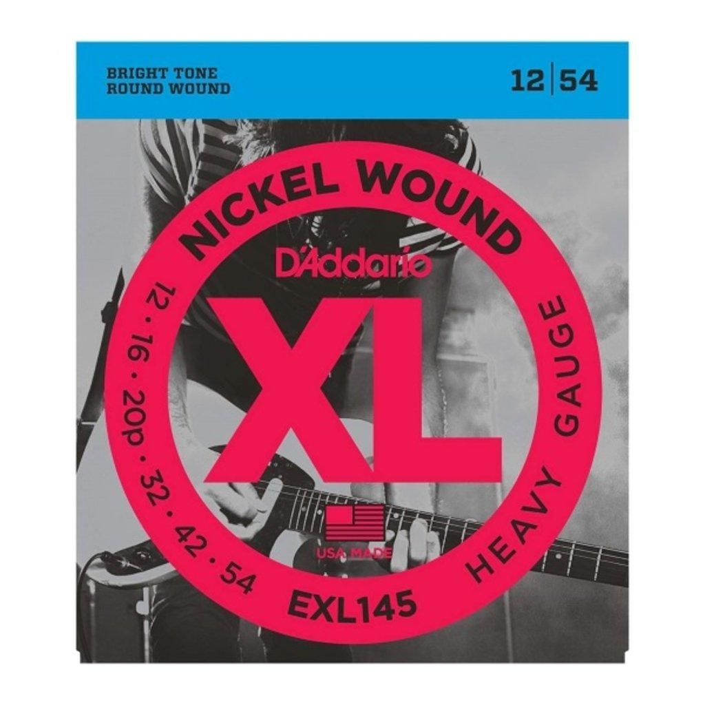 D'Addario NEW D'Addario EXL145 Nickel Wound Electric Strings - Heavy - .012-.054