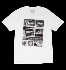 Fender NEW Fender Vintage Parts T-Shirt, White, S