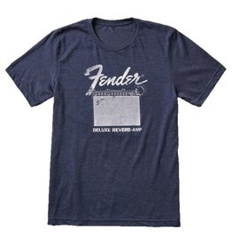 Fender NEW Fender Deluxe Reverb T-Shirt, Blue, S
