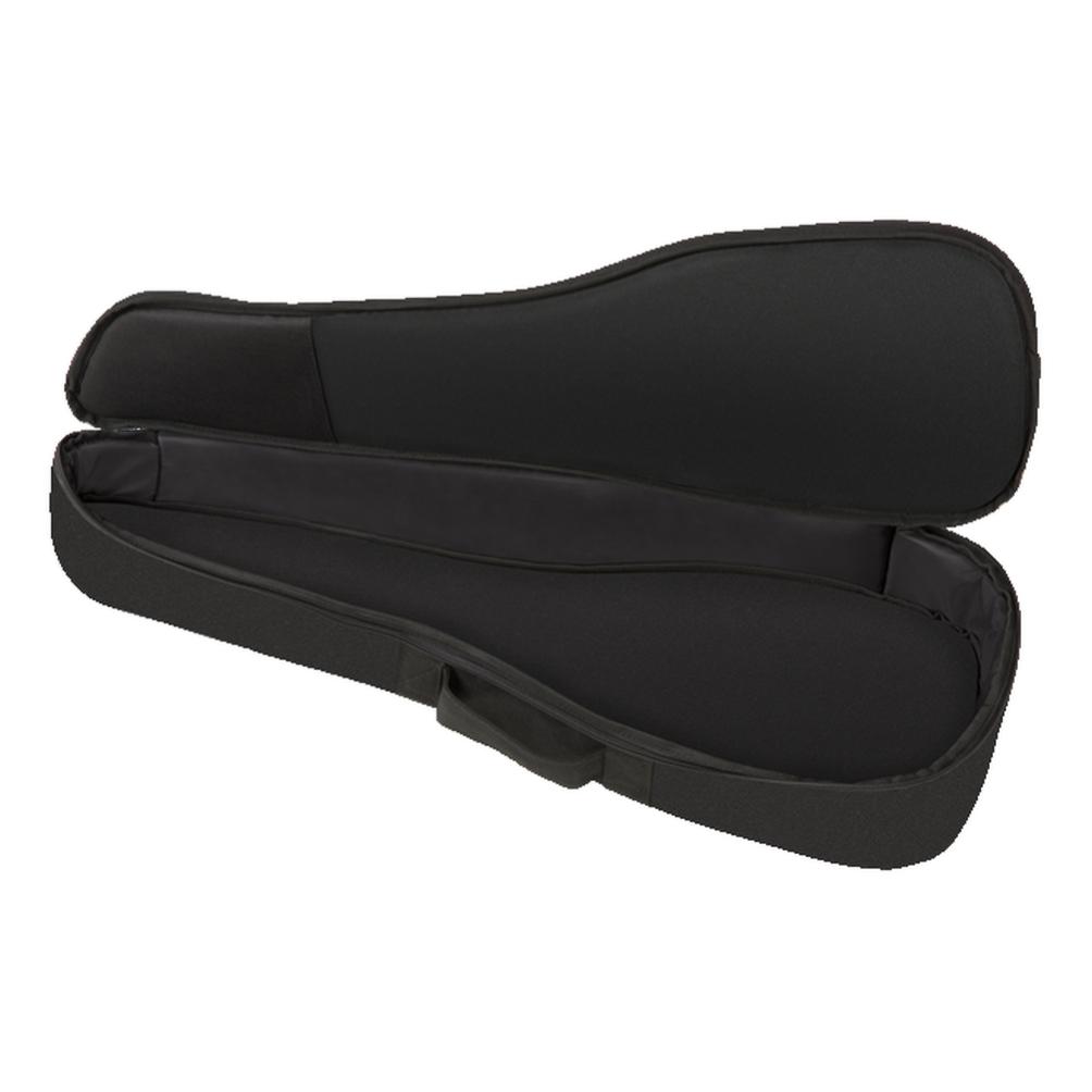 Fender NEW Fender FU610 Concert Ukulele Gig Bag, Black