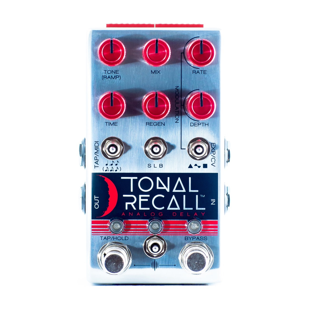 Chase Bliss NEW Chase Bliss Audio Tonal Recall Analog Delay - Red Knob Mod