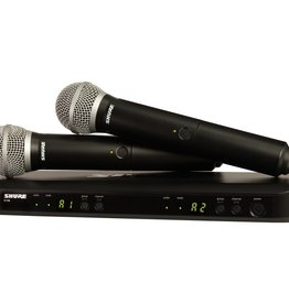 Shure NEW Shure BLX288/PG58 Dual Channel Handheld Wireless System